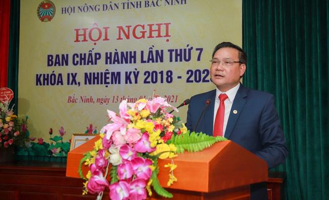 Bắc Ninh kết nạp mới trên 2.000 hội viên nông dân, hàng chục nghìn hộ được hỗ trợ vốn vay  - Ảnh 1.