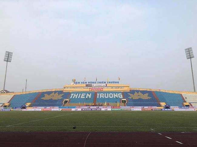 CĐV Nam Định làm nóng Thiên Trường trước trận khai mạc V.League - Ảnh 1.