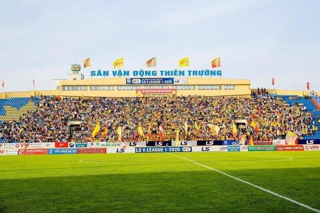 CĐV Nam Định làm nóng Thiên Trường trước trận khai mạc V.League - Ảnh 6.