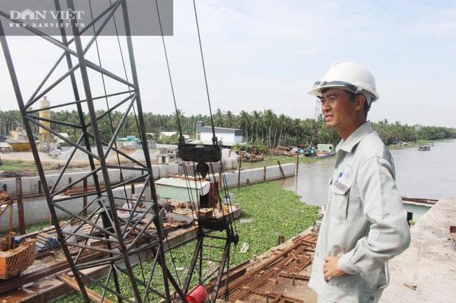 Công trình cống Cái Bé sẽ vận hành trong tháng 2 tới, Kiên Giang không cần đắp hơn 150 đập tạm - Ảnh 1.