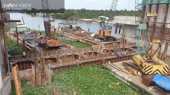 Công trình cống Cái Bé sẽ vận hành trong tháng 2 tới, Kiên Giang không cần đắp hơn 150 đập tạm - Ảnh 2.