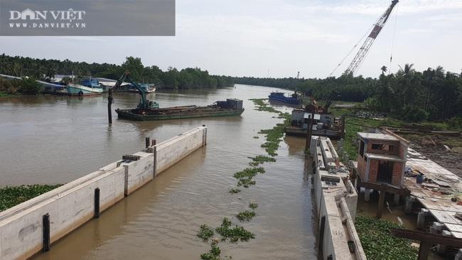 Công trình cống Cái Bé sẽ vận hành trong tháng 2 tới, Kiên Giang không cần đắp hơn 150 đập tạm - Ảnh 3.