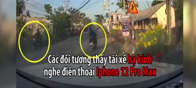 Khoảnh khắc nhóm cướp dàn cảnh cướp điện thoại iPhone 12 Pro Max ở Long An - Ảnh 2.