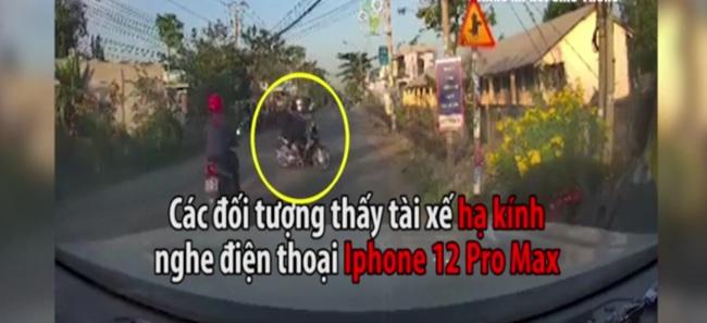 Khoảnh khắc nhóm cướp dàn cảnh cướp điện thoại iPhone 12 Pro Max ở Long An - Ảnh 3.