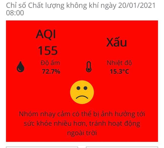 Hà Nội ô nhiễm không khí, người già, trẻ nhỏ cần hạn chế ra đường - Ảnh 2.