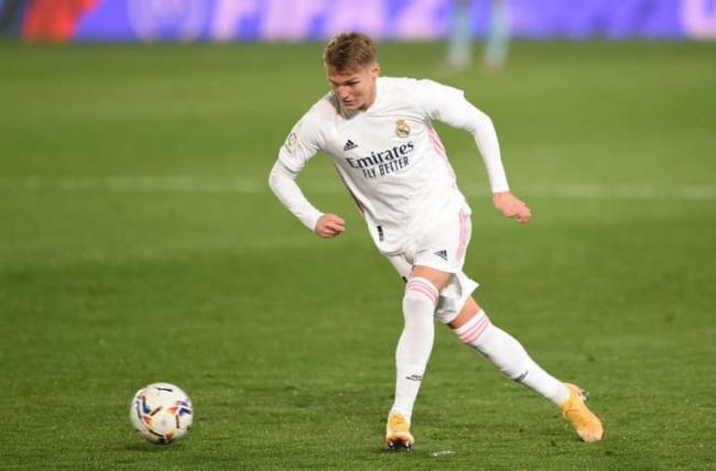 Odeegard không được trọng dụng ở Real Madrid.
