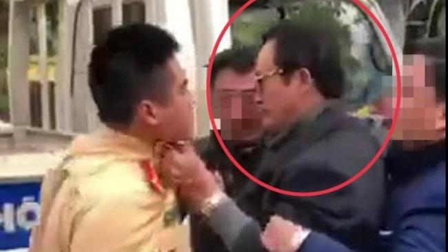 Sau vụ việc túm cổ áo CSGT, Chi cục trưởng Dân số tỉnh Tuyên Quang vẫn đi làm việc bình thường - Ảnh 2.