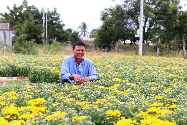 Ninh Thuận: Nông sản liên tục tăng giá, nông dân phấn khởi đón tết - Ảnh 2.