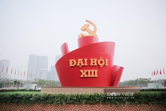 Ảnh: Trung tâm Hội nghị Quốc gia sẵn sàng cho Đại hội Đảng XIII - Ảnh 2.