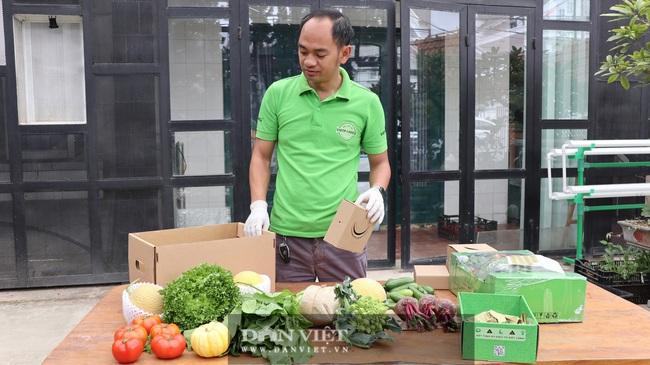 Độc đáo giỏ quà Tết bằng nông sản VietGAP của thạc sĩ 8X - Ảnh 3.