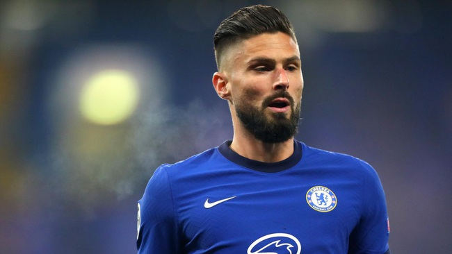 Giroud chỉ còn hợp đồng đến cuối mùa với Chelsea.