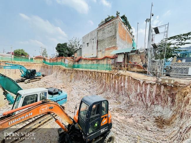 Dự án C-River View của Cường Đô La có dấu hiệu xây trái phép hầm móng? - Ảnh 7.