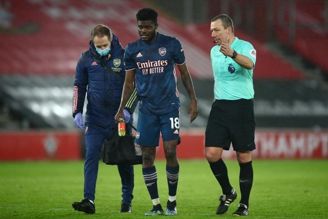 Partey liên tục dính chấn thương kể từ khi gia nhập Arsenal.