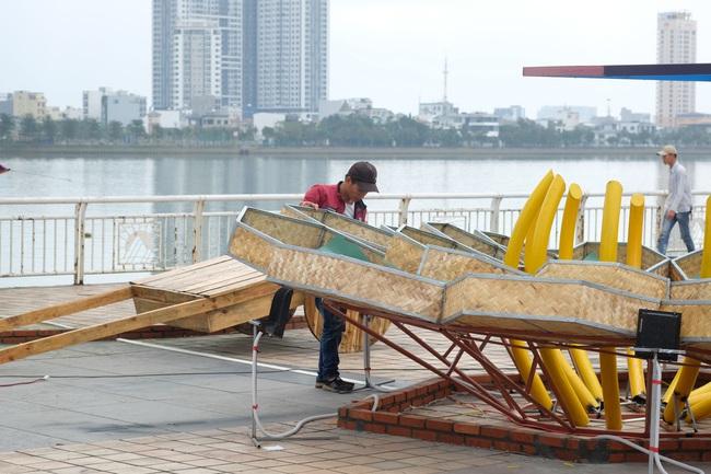 Cận cảnh đường hoa phục vụ Tết Nguyên đán hơn 10 tỷ đồng tại Đà Nẵng - Ảnh 5.