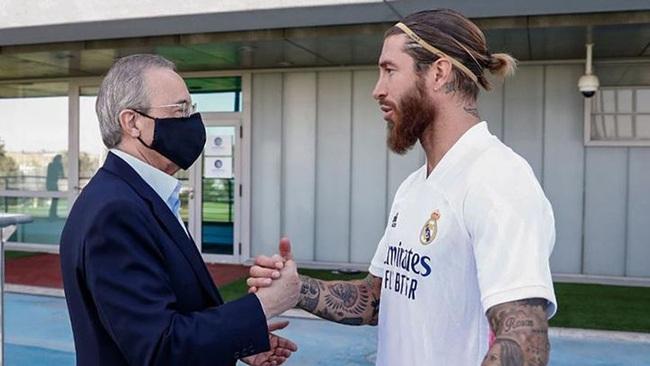 Ramos đã no nê danh hiệu ở Real Madrid.