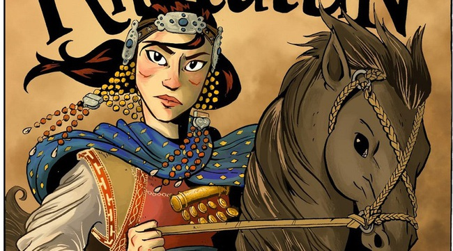 Nàng công chúa đấu vật với 1.000 người để kén chồng - Ảnh 1.