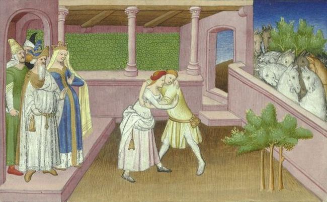 Nàng công chúa đấu vật với 1.000 người để kén chồng - Ảnh 2.