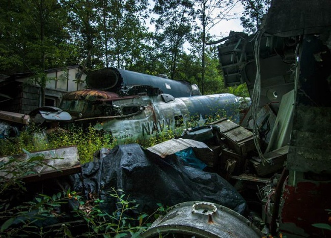 Tận mục nghĩa địa máy bay chiến đấu thời Thế chiến II - Ảnh 6.