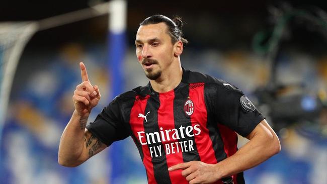 Ibrahimovic vẫn đang là chân sút số 1 ở AC Milan.
