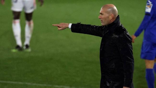 Zidane hài lòng với sơ đồ mới.