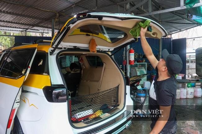 30 Tết tranh thủ ở Hà Nội rửa xe kiếm 30 triệu đồng - Ảnh 6.
