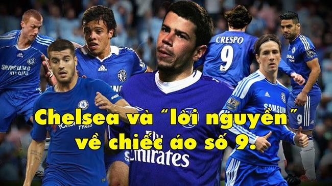"""Chelsea và """"lời nguyền"""" về chiếc áo số 9 - Ảnh 1."""