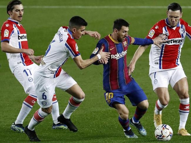 Messi đang thăng hoa trở lại.