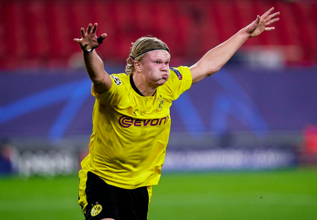 Haaland trực tiếp mang về chiến thắng cho Dortmund.