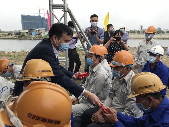 Chủ tịch Đà Nẵng yêu cầu đảm bảo 3 tiêu chí khơi thông sông Cổ Cò - Ảnh 2.