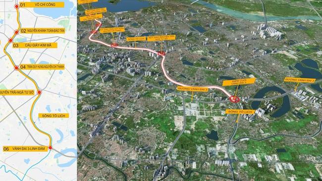 Bất ngờ với đề xuất xây dựng hầm chống ngập kết hợp cao tốc ngầm dọc sông Tô Lịch - Ảnh 2.
