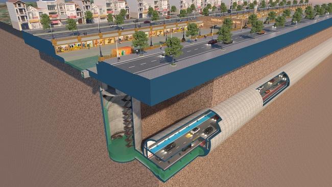 Bất ngờ với đề xuất xây dựng hầm chống ngập kết hợp cao tốc ngầm dọc sông Tô Lịch - Ảnh 8.