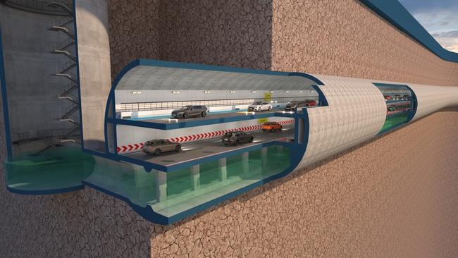 Bất ngờ với đề xuất xây dựng hầm chống ngập kết hợp cao tốc ngầm dọc sông Tô Lịch - Ảnh 3.