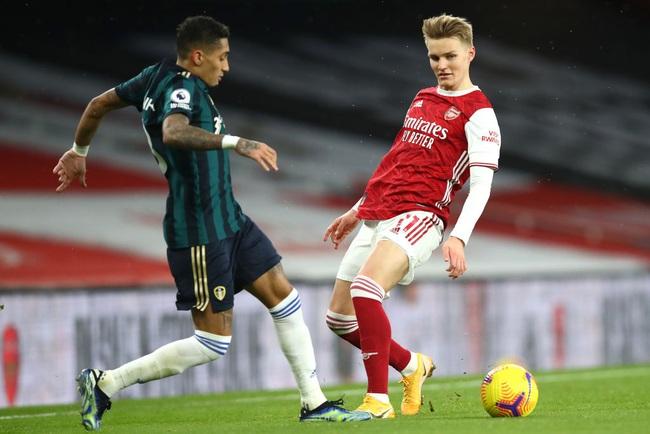 Arsenal không có cơ hội mua đứt Odegaard.