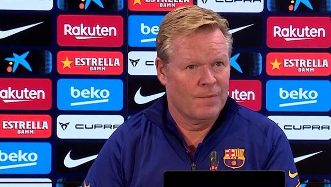 """Barcelona bị """"tí hon"""" Cadiz gỡ hòa phút 89, HLV Koeman thất thần - Ảnh 1."""