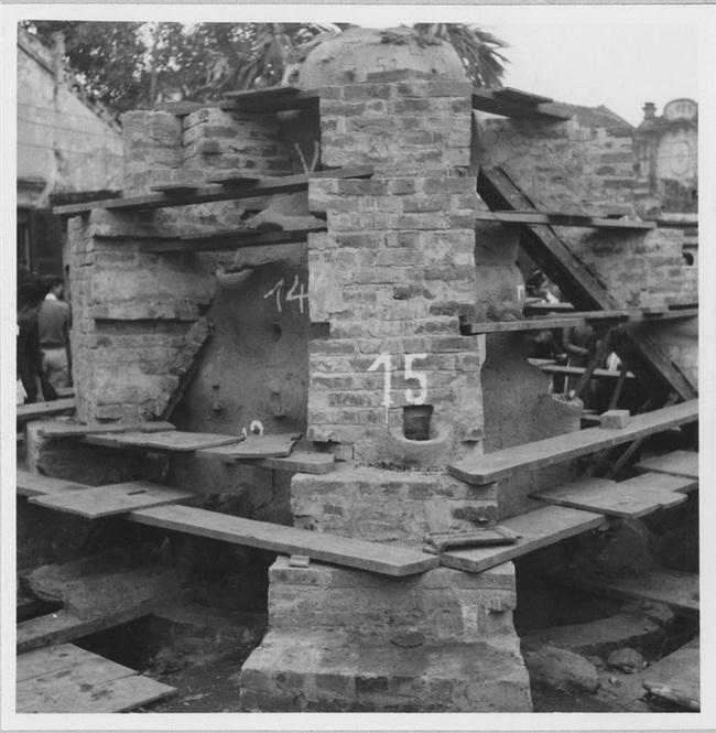 Cảnh đúc tượng Phật khổng lồ ở Hà Nội 70 năm trước - Ảnh 3.