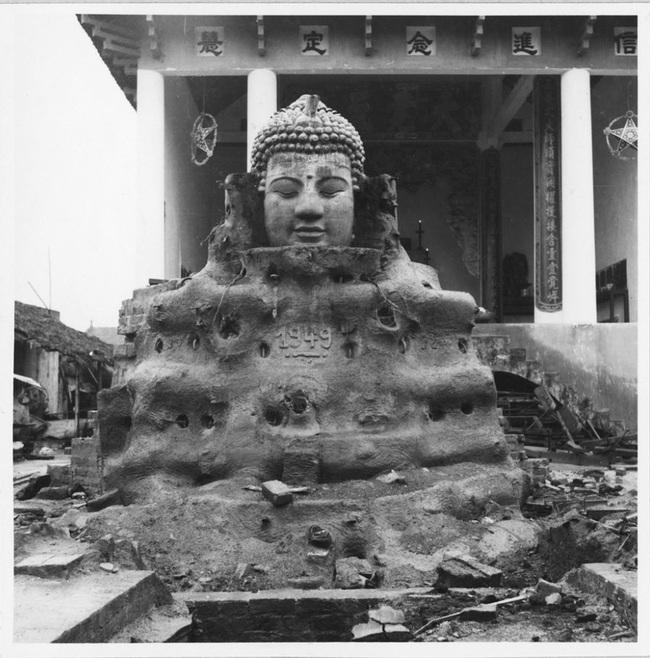 Cảnh đúc tượng Phật khổng lồ ở Hà Nội 70 năm trước - Ảnh 10.