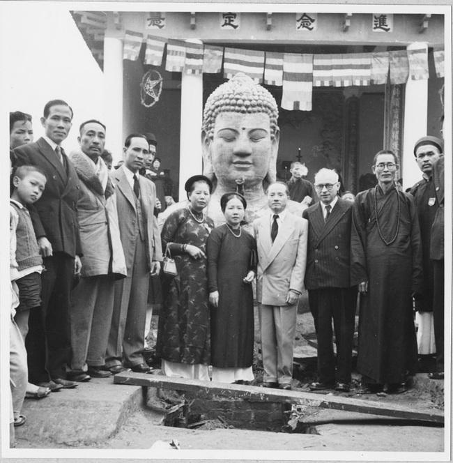 Cảnh đúc tượng Phật khổng lồ ở Hà Nội 70 năm trước - Ảnh 13.