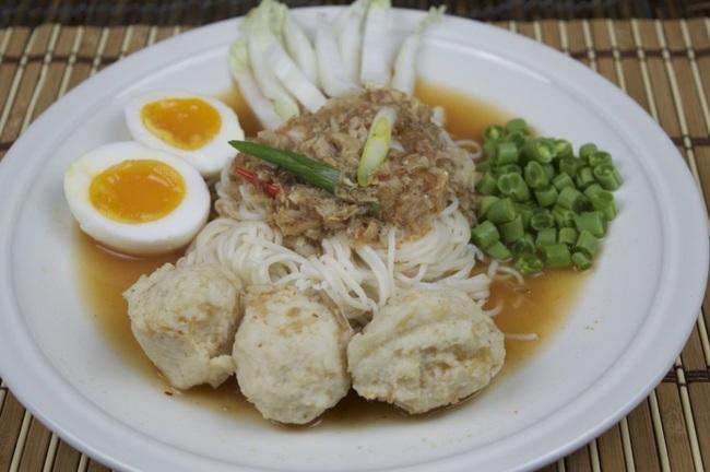 Kanom jeen - món mỳ lên mên đặc sắc nét văn hóa truyền thống của người Thái Lan - Ảnh 6.