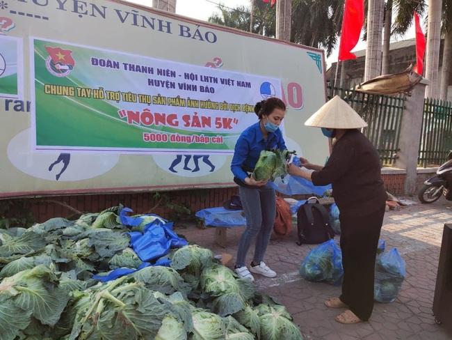 """Lan tỏa phong trào """"giải cứu"""" nông sản cho nông dân nhiều huyện tại Hải Phòng - Ảnh 1."""