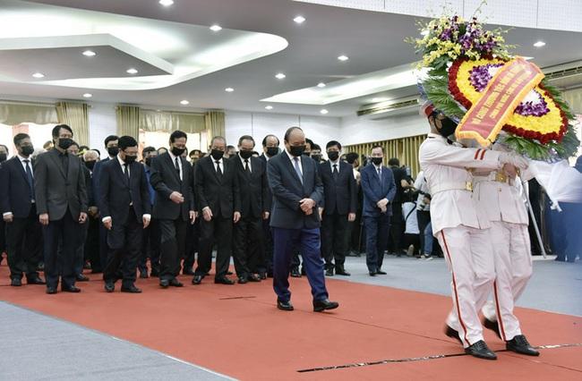 Lễ viếng nguyên Phó thủ tướng Chính phủ Trương Vĩnh Trọng tại Bến Tre - Ảnh 1.