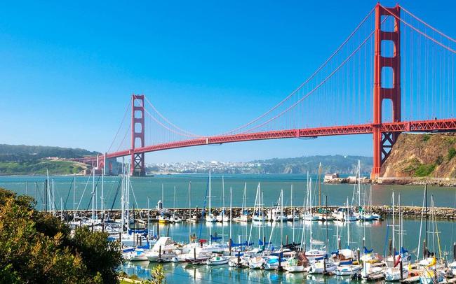 Cầu vượt biển Cần Giờ - Vũng Tàu sẽ lớn hơn cả cây cầu Golden Gate Bridge ở San Francisco? - Ảnh 2.