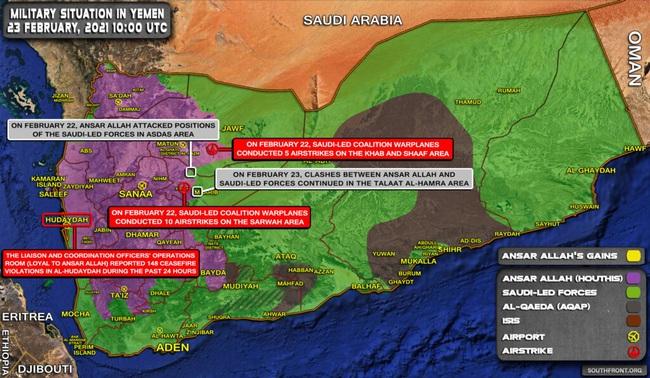 Loạt video giao chiến ác liệt của liên minh Saudi ở Yemen được công bố - Ảnh 3.