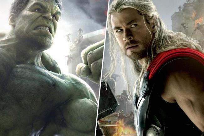 """Clip: Đại chiến """"long trời, lở đất"""" giữa Thor và Hulk, ai thắng? - Ảnh 1."""