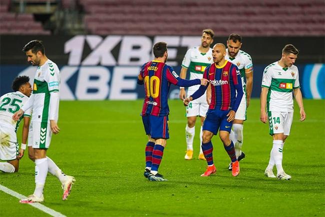 """Messi giúp Barca chiến thắng, HLV Koeman trút được """"gánh nặng ngàn cân"""" - Ảnh 1."""