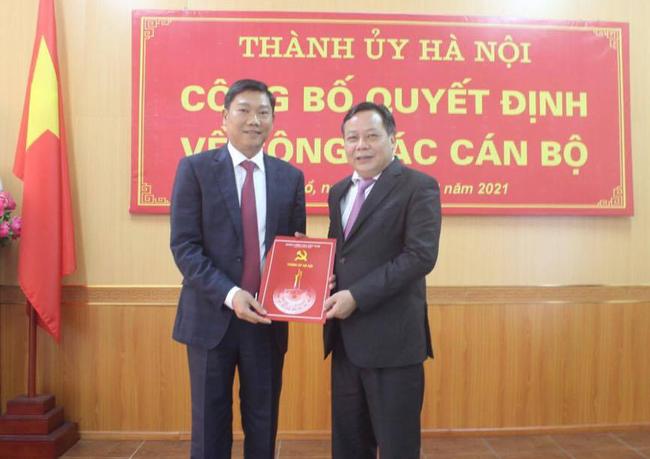 Hà Nội: Bí thư Quận ủy Tây Hồ được điều động làm Giám đốc Sở Kế hoạch và Đầu tư - Ảnh 1.