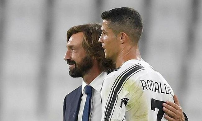 Pirlo chỉ hài lòng với Ronaldo.