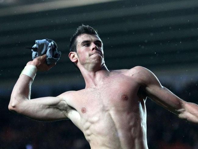 """Top 5 siêu sao bóng đá """"biến hình"""" nhờ tập gym: Có Ronaldo, Bale - Ảnh 3."""