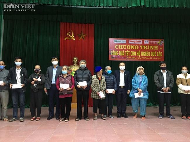 Quỹ Thiện Tâm và Báo NTNN/Dân Việt mang Tết đến cho người nghèo huyện Nam Đàn   - Ảnh 3.