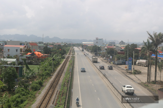 Những hình ảnh đầu tiên về cao tốc Cao Bồ-Mai Sơn 1.600 tỉ đồng sắp thông xe - Ảnh 5.