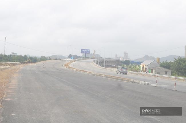 Những hình ảnh đầu tiên về cao tốc Cao Bồ-Mai Sơn 1.600 tỉ đồng sắp thông xe - Ảnh 1.